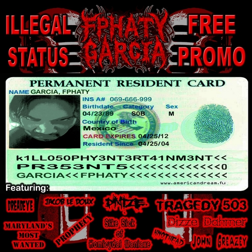 iLLegaL Status (Free Promo) Host by Fphaty Garcia