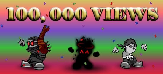 Madness Lunacy Reaching 100,000 views! + Updates