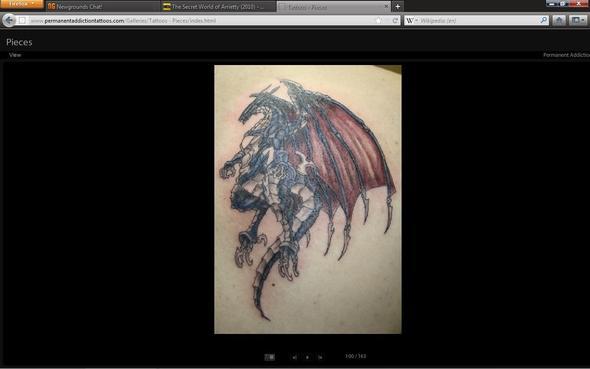 Bahamut Tattoo