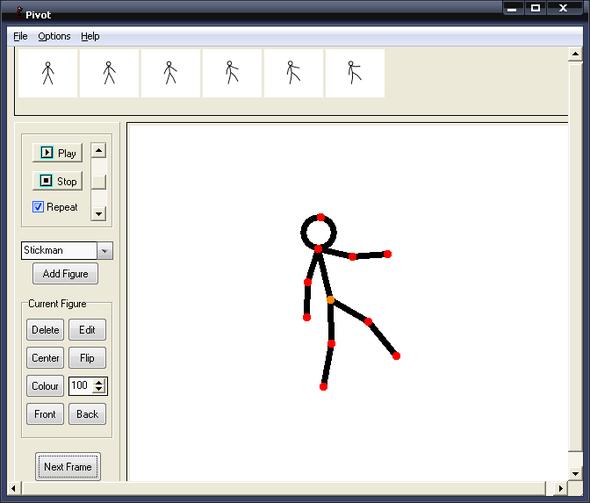 Pivot Stick figure animator 3.0