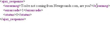 I hacked Newgrounds!