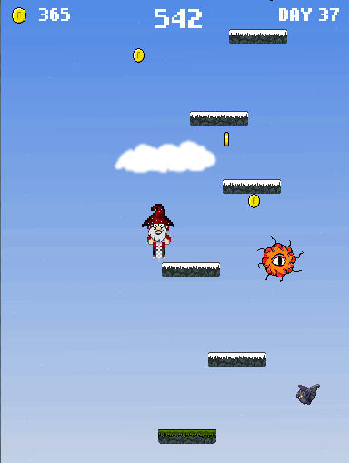 My new game is ready - Wizard Jump