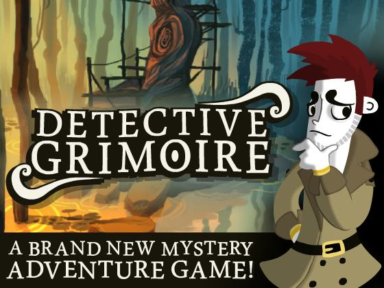 Detective Grimoire Kickstarter and Trailer!