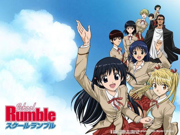 New Cover! School Rumble - kono namida ga aru kara tsugi no ippo to naru