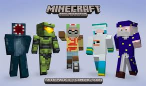 Minecraft Skin Pack 1 Released Today (Xbox 360)