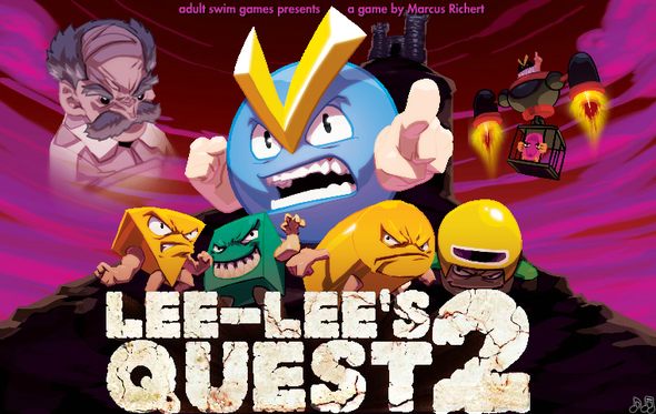 Lee-Lee's Quest 2 on Adult Swim!!