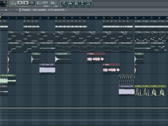 i'm making a pretty cool dubstep sawng