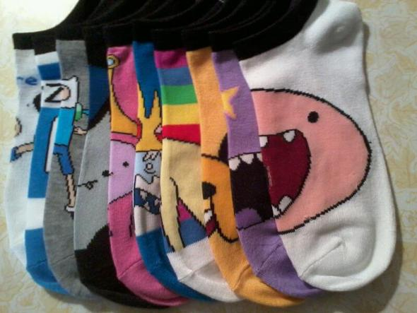 Holy Shit Adventure Time Socks!