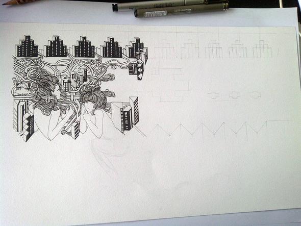 Art in progress!