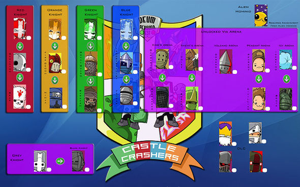 how to get knight head in battleblock theater pc