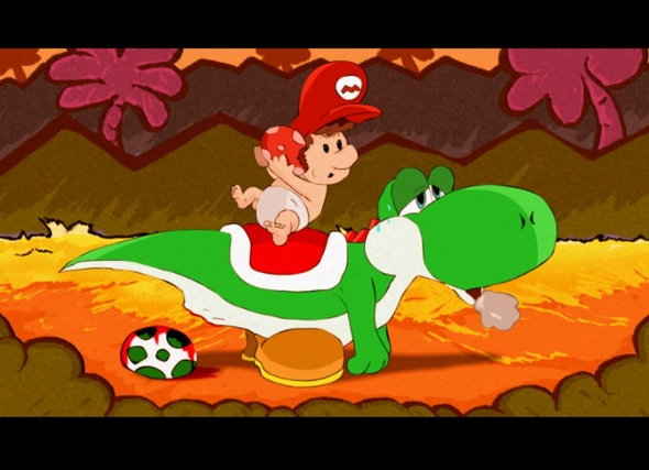 working on a new yoshi animation
