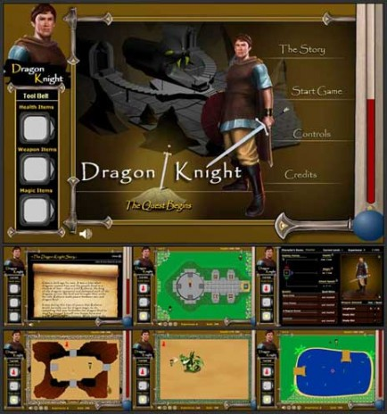 The release of Dragon Knight - The Quest Begins (Episode 1)