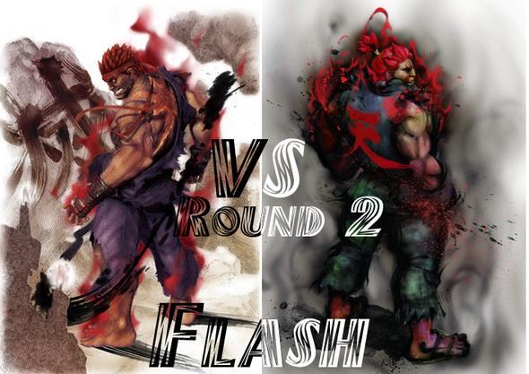 Ryu vs Akuma Round 2