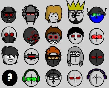 W.O.M.F.A. 4 Mini Icons
