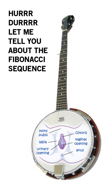 """The word of the day is """"Cuntbanjo"""""""