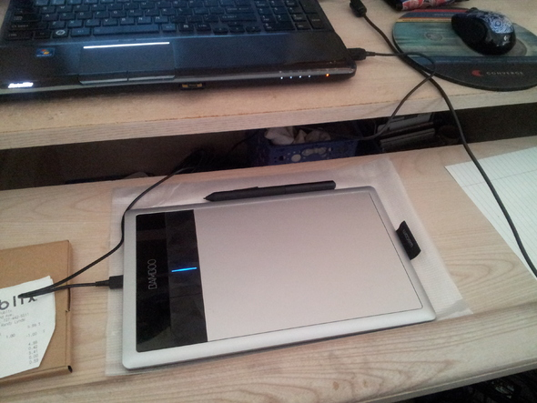 Got A Tablet!