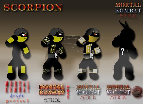 Mortal Kombat Stick - 90% finished