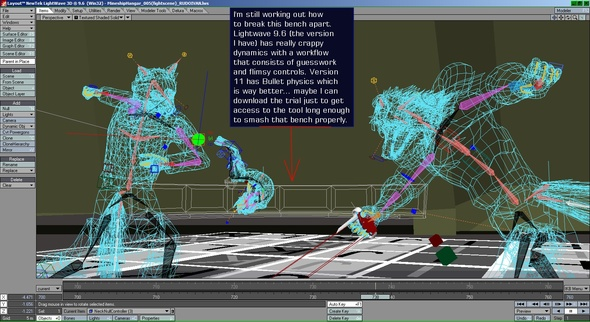 More 3d animation work...