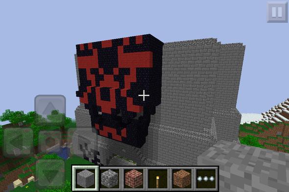 minecraft building projct