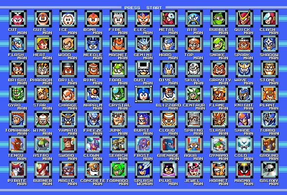 Favorite mega man robot master