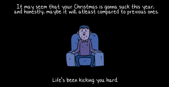 A Christmas comic!