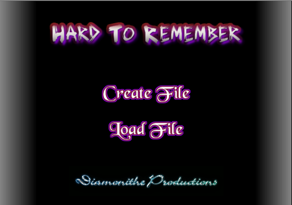 """Hard To Remember"" Progress and future Beta Test"