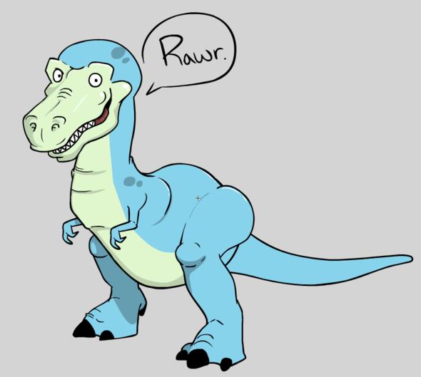 New Toon! Derpasaurus Rex!