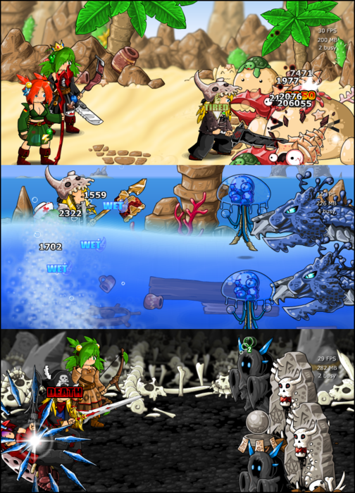 More battles!