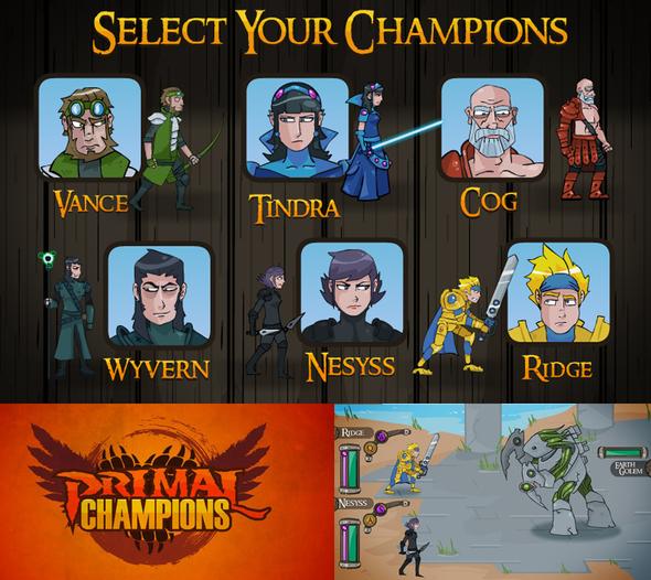 Primal Champions - Now Casting Voice Actors!
