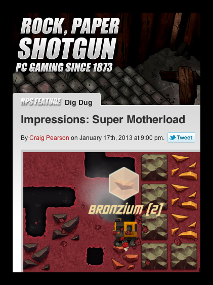 Rock Paper Shotgun: Favourable First Impressions