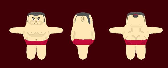 Sumo Game Art