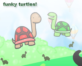 New Flash: Funky Turtles