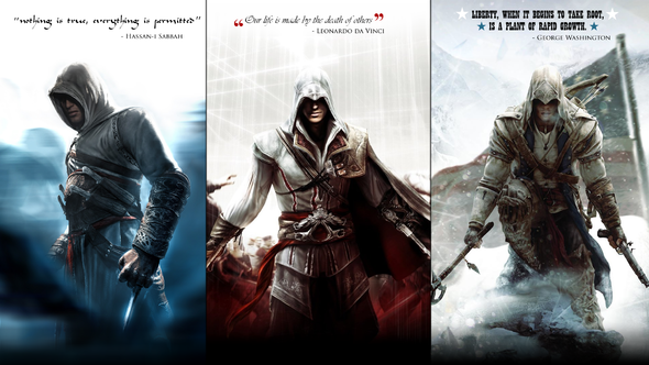 ASSASSINS CREED III BEATED BUT NOW LIBERATION...