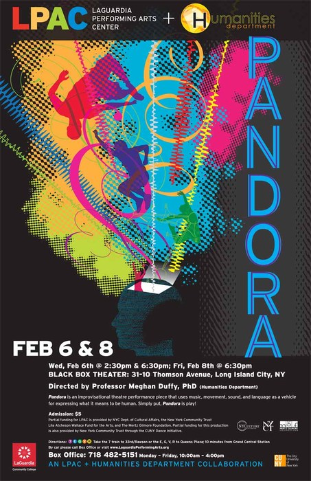 In NYC this Week, come see me in PANDORA!