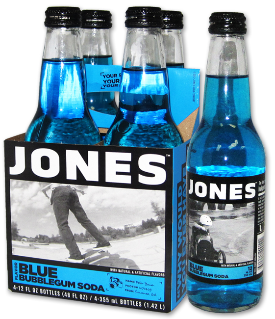 Blue Bubblegum Jones Soda