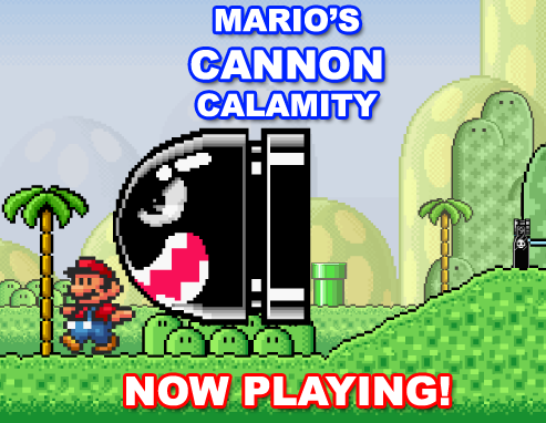 New Flash: Mario's CANNON Calamity!