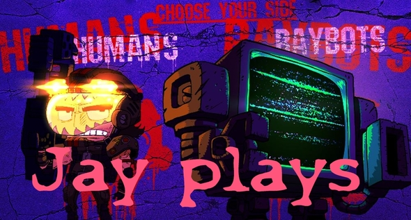 Jay Plays - Cathode Raybots (Feat. Ryan)