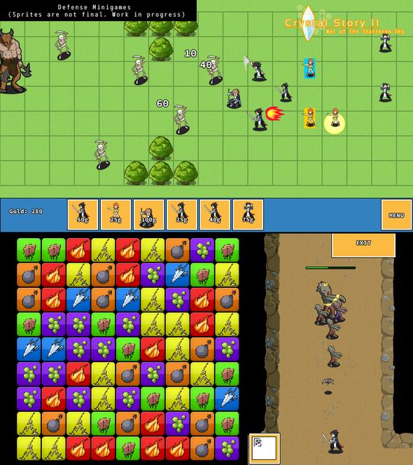 Defense Minigames