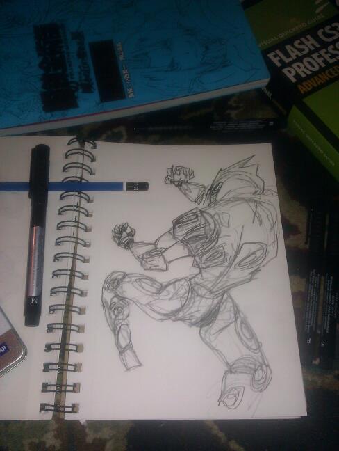 Teaser sketches for Patroling part II