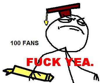 100 fans :D