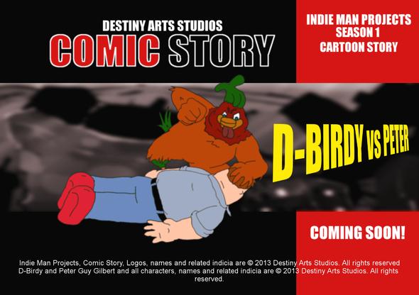 Destiny Arts Studios - Cartoon Story Q-Birdy vs Peter