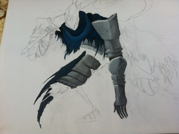 Artorias in Progress + Vertigo 2