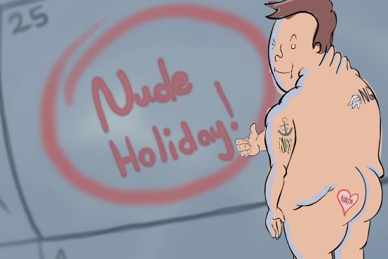 Naked for NATA