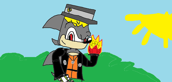 My Fanchar ART!!!!!! (For you KoudibladeSonic :D )