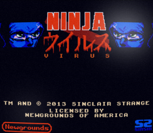 New Game: Ninja Virus