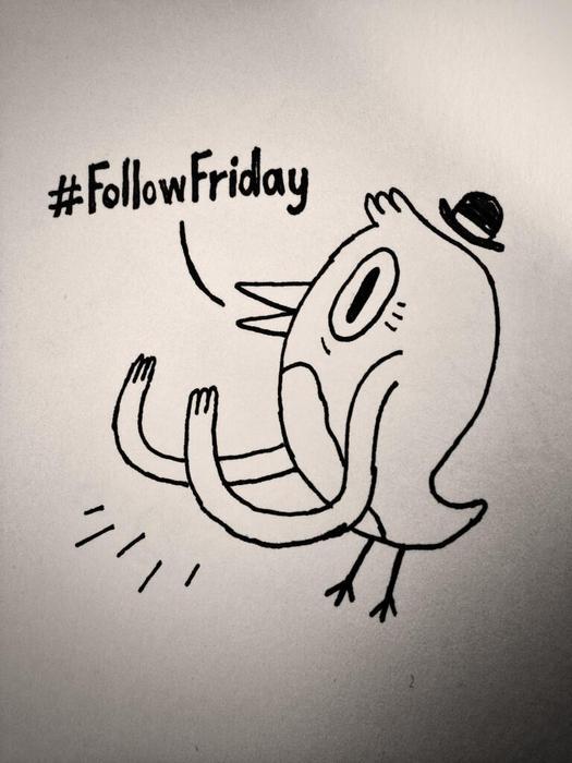 Follow me and get a doodle!