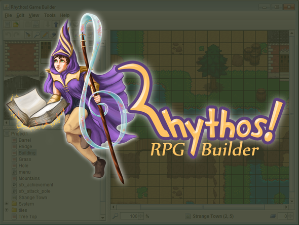 Rhythos RPG Builder and an I Can't Escape Soundtrack!