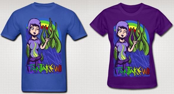 Tentakewl T-Shirt Design
