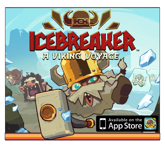 Nitrome - Icebreaker: A Viking Voyage now available on the App Store!