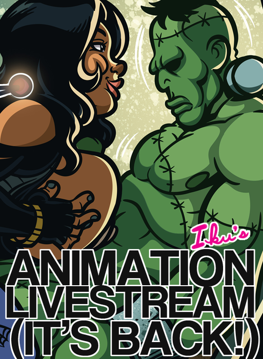 (18+) Animation Livestream Weekends are back!